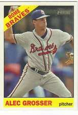 2015 Topps Heritage Minor League #139 Alec Grosser  Rome Braves