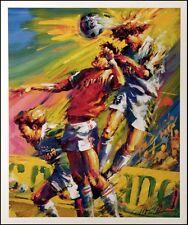 "Malcolm Farley ""Rapids vs. Dallas"" soccer offset lithograph Make an Offer L@@K"