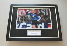 Oliver Kahn Signed Framed 16x12 Photo Autograph Bayern Munich Display + COA