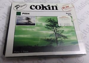 Genuine France Cokin P Series P004 Green Vert Resin Filter CP004 Original OEM