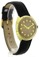JUNGHANS vergoldete Vintage Herren- Armbanduhr. Handaufzug, 60er Jahre