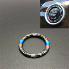 Good Carbon Fiber Key Start Button Ring Decor Trim For BMW 3 Series E90/E92/E93