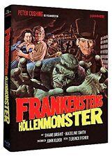 Mediabook Hammer Edition FRANKENSTEINS HÖLLENMONSTER Peter Cushing BLU-RAY Box