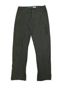 Women's COLUMBIA Size 12 Omni-shield Nylon Spandex Lightweight Pants Hike Travel