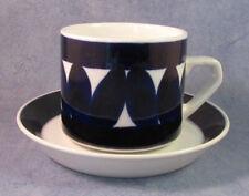 ARABIA OF FINLAND, Vintage, Sotka Tea Cup & Saucer