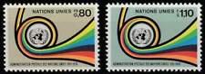 Nations Unies - Geneve postfris 1976 MNH 60-61 - UN Post 25 Jaar