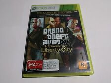Grand Theft Auto iv complete edition xbox 360