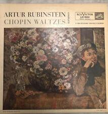 Chopin Rubinstein – Chopin Waltzes (RCA Victor Red Seal – LM-1892)