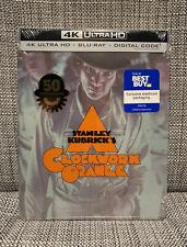 New listing Stanley Kubrick A Clockwork Orange 4K Uhd Steelbook Best Buy Sealed Priority Box