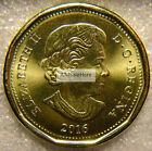 2016 Canada $1 One Dollar Regular Loon Loonie Coin Brilliant Uncirculated BU