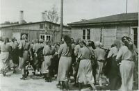 WW II German Photo <>  . ..Jewish Women - Concentration Camp...