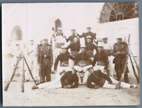 Tunisie, 13e Cie. 15e Escouade, Caserne de l'Arsenal  Vintage citrate print