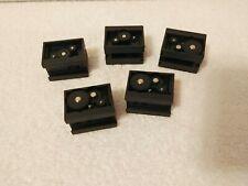 Fischertechnik        LOT of 5          GEARBOX   BLACK  37272        Robotics