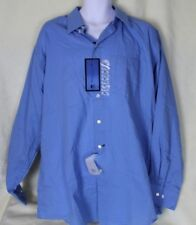Reaction Kenneth Cole Men's Dress Shirt Long Sleeve Blue Size XL 17/ 36-37 NWT