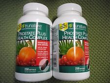 New ! 2 X 250 Softgels  Trunature Prostate Plus Health Complex