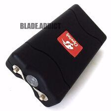 Cheetah BLACK 60MV Rechargeable Police LED Stun Gun Self Defense + Taser Case