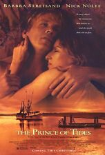THE PRINCE OF TIDES Movie POSTER 27x40 Nick Nolte Barbra Streisand Blythe Danner