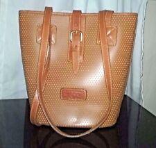 Dooney & Bourke Bucket Bag NEW Cabriolet Caramel Brown Leather Long Straps