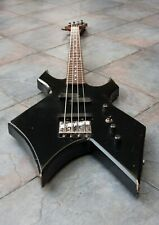 VINTAGE BLACK BC RICH LA CALIFORNIA USA WARLOCK BASS GUITAR