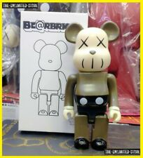 400% Bearbrick  X-eyed Violent Bear Brown BE@RBRICK Action Figure {High Quality}