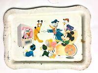 Vintage Disney Wonderful World of Color Large Tray (Metal, 1961) | FREE SHIPPING