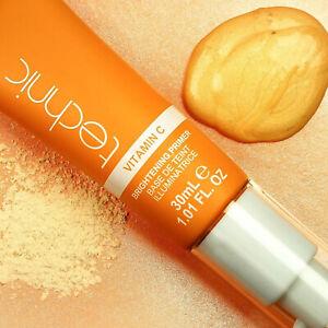 Technic Vitamin C Brightening Primer Makeup Face Moisturiser Natural Glow Base