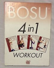 Bosu workout exercise fitness 4 in 1 DVD, calorie, abs, long lean, total body