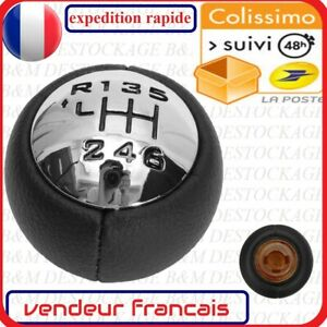Levier de Vitesse 6 Pommeau compatible CITROEN Peugeot RCZ 3008 407 5008 807