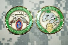 Challenge Coin US Army 212th Military Police Detachment Road Dawgs Ft Belvoir VA