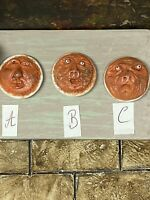 A Dolls house Food haunted horror witches face pie Merrily's Magical Miniatures