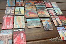 Set of 24 United States New York City Multi-Scenes Art Paper Fridge Magnets GIFT