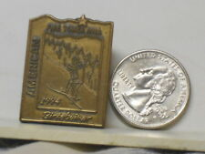 Vtg. 1994 American Birkebeiner Ski Race Hayward - Cable, WI Fire Tower Hill Pin