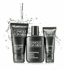 Clinique For Men Great Skin Starts Here 3 PC SEALED Moisturizing Lotion Face Was