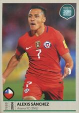 335 ALEXIS SANCHEZ CHILE STICKER ROAD TO RUSSIA WORLD CUP 2018 PANINI