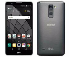 LG G Stylo 2 - 16GB - Metallic Silver (Cricket) Smartphone Unlocked 7/10  no pen