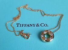 Tiffany & Co. Diamond, 18ct Yellow Gold and Platinum Etoile Pendant/Necklace