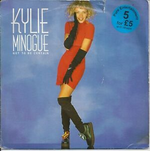 """Kylie Minogue - Got To Be Certain 7"""" Vinyl Single 1988 Picture Sleeve"""