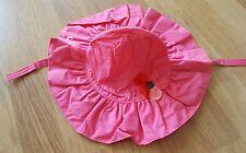 Gymboree baby girls bright pink sun hat 6-12 mnths bnwt