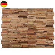 10x Wandverkleidung Wandpaneele Verkleidung Holzpaneele Holzwand Wand Teak 1m2