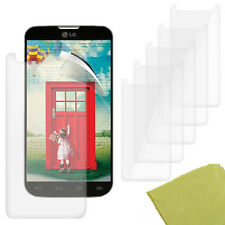 5 Pack PET Film Screen Protector Guard For LG L70 Double D325