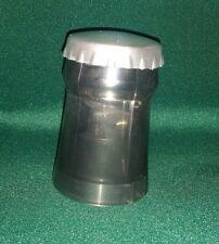 20 x Push Down Bottle Openers Black/Silver - Bar Beer Soda Bottle NIB