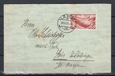 Schweiz Mi. 248 auf Umschlag gestempelt Uzwil ?, 29.XII.31 (Int.1315)