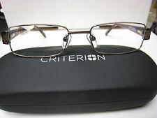 CRITERION CM02  EYEGLASS FRAMES Eyewear  BROWN  Size 53-18-140