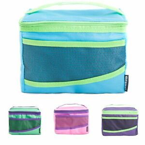 Sistema Maxi Fold Up Insulated Cooler Lunch Bag Kids School Snack Picnic Travel
