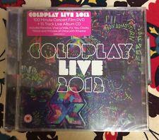 Coldplay - Live 2012 CD (Parental Advisory/Live Recording/+DVD, 2012)