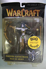 Toycom Blizzard Warcraft Series SHANDRIS FEATHERMOON NIGHT ELF ARCHER