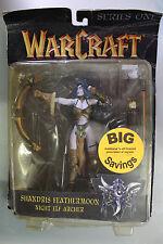 Toycom Blizzard Warcraft Series SHANDRIS FEATHERMOON NIGHT ELF ARCHER