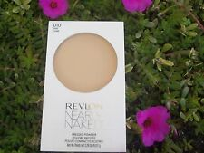REVLON NEARLY NAKED PRESSED POWDER COMPACT, #010 FAIR