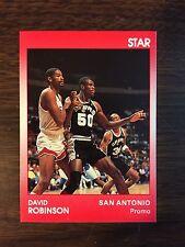 1989 Star Company DAVID ROBINSON San Antonio Spurs Limited Edition Promo Card