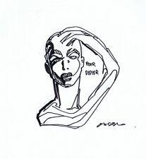 CADELO. Envie de Chien EO 1994 avec dessin original